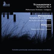"Tchaikovsky: Symphony No. 4; Prokofiev: Symphony No. 1 ""Classical""; Scriabin: Rêverie - Various (Remasters)"