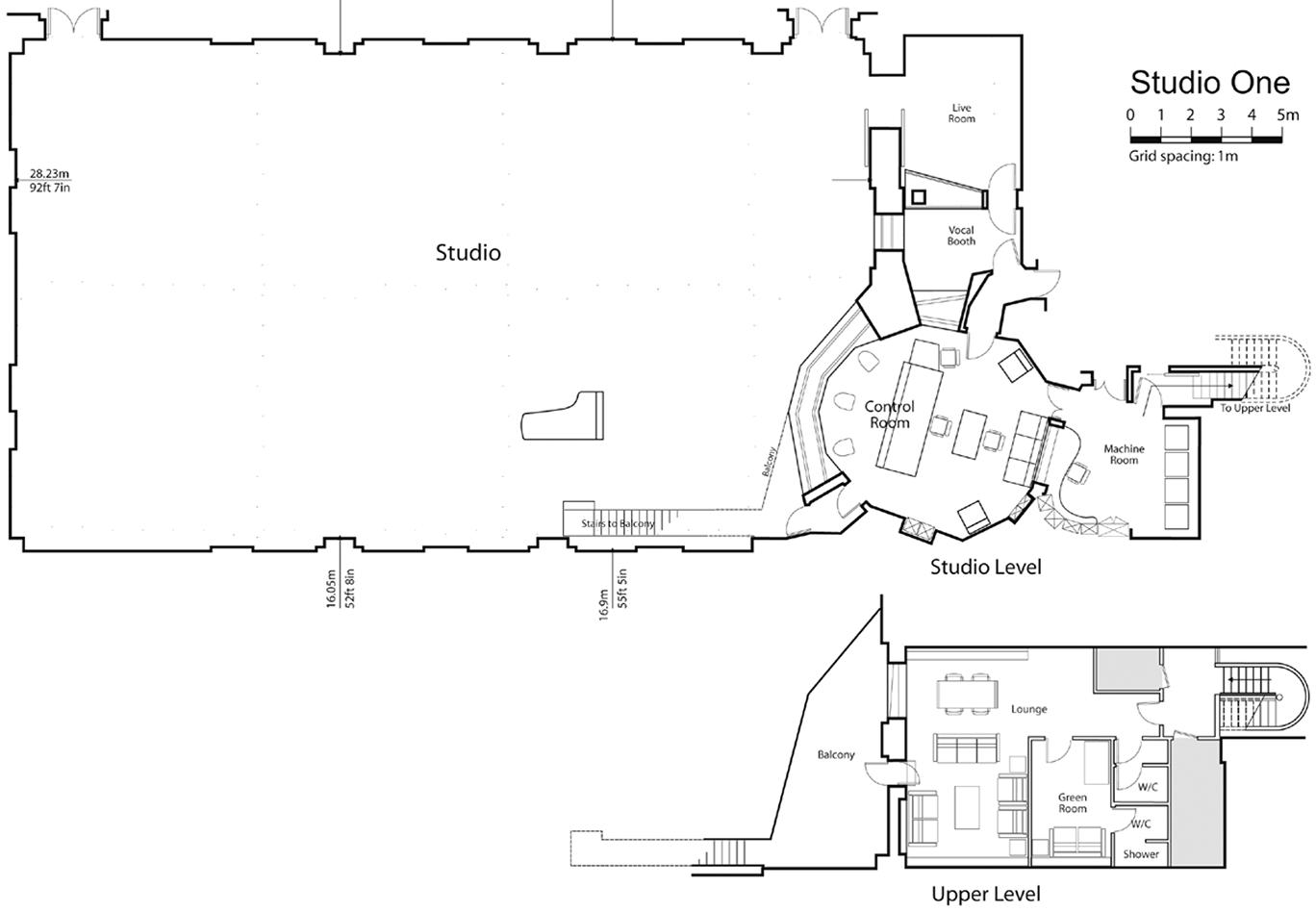 Studio One Floorplan