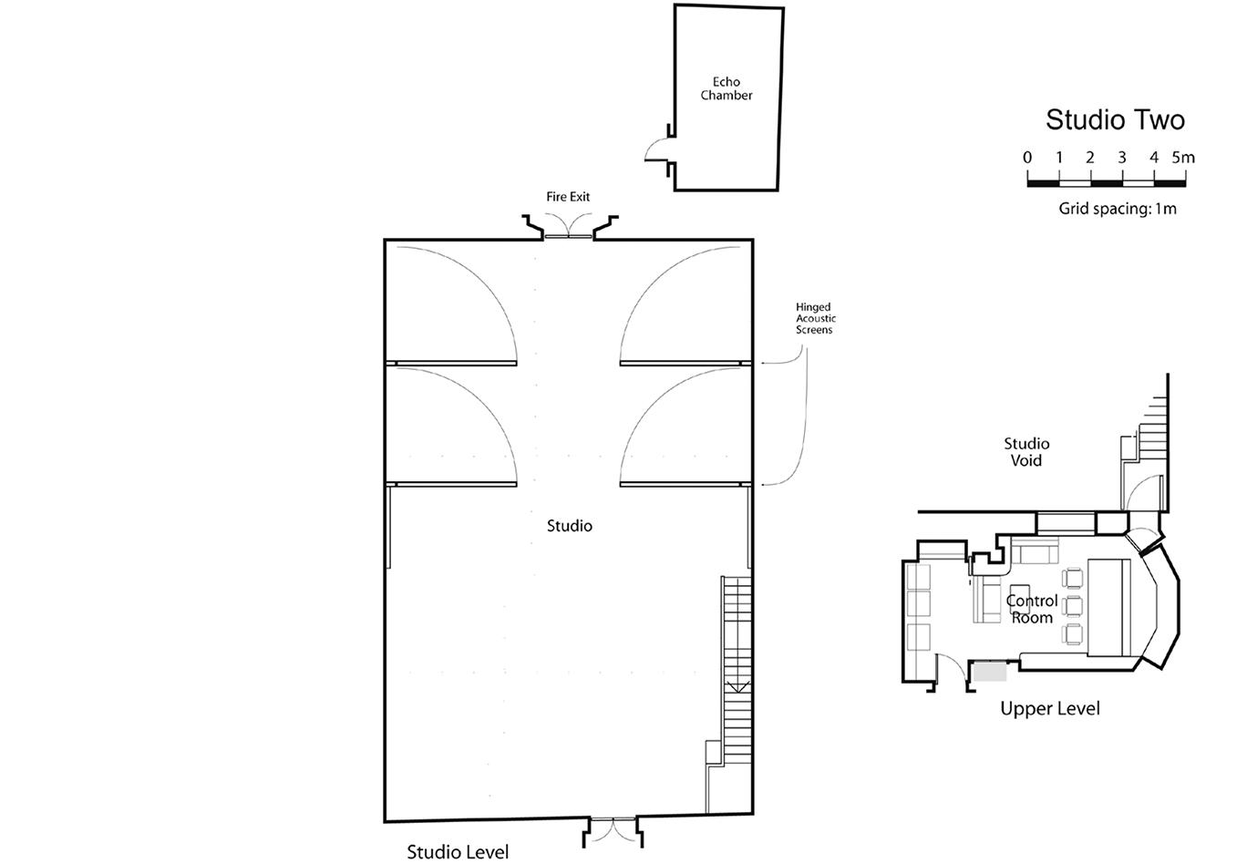 Studio Two Floorplan